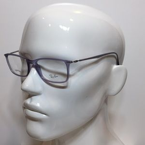 e61feabe4e Ray-Ban Accessories - Ray Ban 7031 5401 crystal purple plastic glasses
